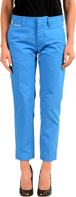 DSQUARED2 Women's Blue Casual Pants US 8 IT 44