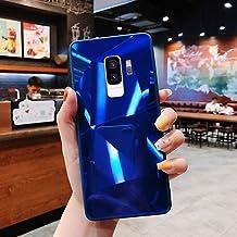 URFEDA Compatibel met Samsung Galaxy S9 Plus telefoonhoesje Diamond Glitter Case met spiegeleffect Sparkly Bling TPU Silic...