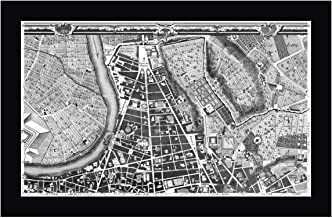 Rome Sectional Map by Giovanni Battista Nolli 11