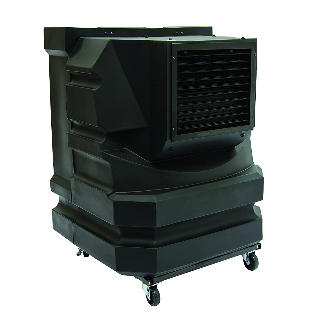 TPI Corporation EVAP-Mini 700 Portable Workstation Evaporative Cooler, 1/3 HP, Water Level Sight, Sump Drain, Black, Lowers Temps by up to 30 Degrees, 16 Gallon Tank