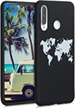 kwmobile TPU Silicone Case Compatible with Huawei P30 Lite - Soft Flexible Shock Absorbent Protective Phone Cover - Travel...