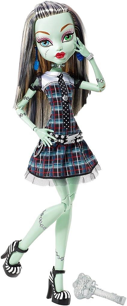 プレゼン抑圧フェデレーション輸入モンスターハイ人形ドール Monster High Frightfully Tall Ghouls Frankie Stein Doll [並行輸入品]