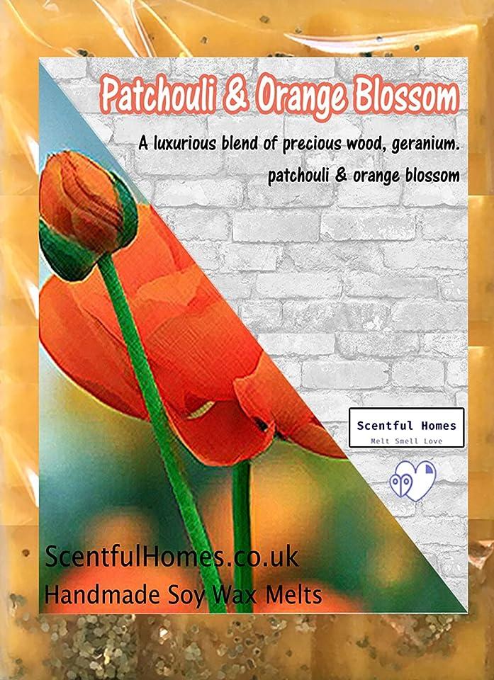 Patchouli and Orange Blossom Wax Melts