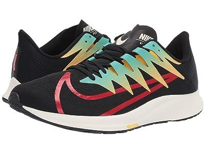 Nike Zoom Rival Fly (Black/University Red/Amarillo/Hyper Jade) Men