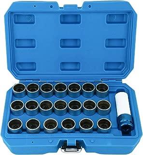 Butzi cromo antirrobo perno en forma de rueda de bloqueo tuercas y 2/llaves para Volvo XC90/ 14/x 1,50/L28