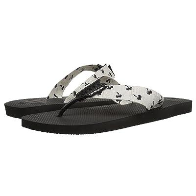Havaianas Urban Series Flip Flops (Black/White) Men