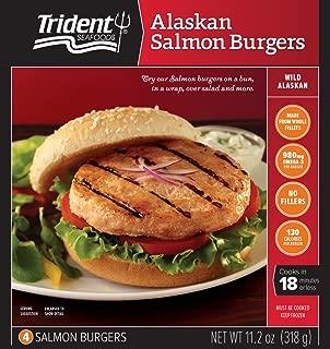 Trident, Alaskan Salmon Burgers, 11.2 oz (Frozen)