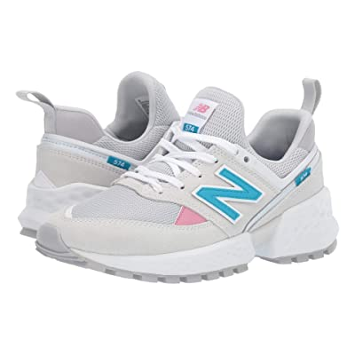 New Balance Classics 574v2-USA (Arctic Fox/Deep Ozone Blue) Women