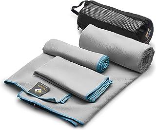 OlimpiaFit Microfiber Towels – Quick Dry 3 Size Pack (51inx31in, 30inx15in,..