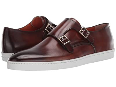 Santoni Freemont Sneaker (Brown) Men