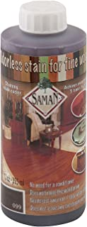 Saman Interior Water Based Stain for Fine Wood, Urban Grey, 12 oz