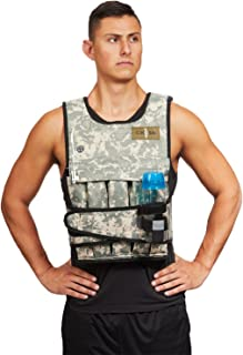 CROSS101 Weighted Vest Arctic/Desert Camouflage 20lbs - 80lbs
