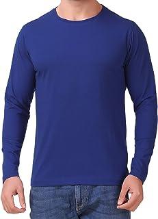 Outlander Clothing Co. Men's Cotton Blend Round Neck Full Sleeve T Shirt for Men
