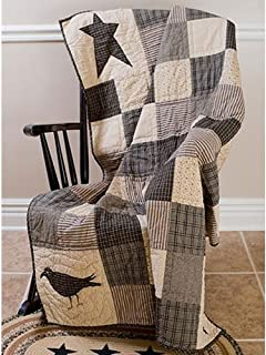 Lasting Impressions Kettle Grove Patchwork Throw Quilt