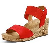 Dream Pairs Women's Platform Wedge Sandals