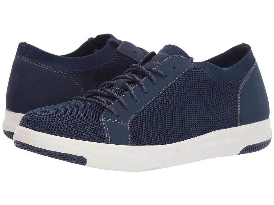 Dockers Franklin Smart Series Knit Sneaker with Smart 360 Flex and NeverWet (Navy Knit/Nubuck) Men