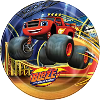 Blaze and the Monster Machines Dinner Plates 8ct
