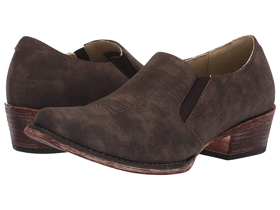 Roper Birkita Classic (Vintage Brown Faux Leather) Women