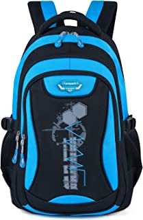 Bageek Mens Backpack Student Backpack Lightweight Laptop Backpack School Bookbag for Boy