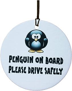 Ali Air Freshener Penguin On Board Auto Lufterfrischer