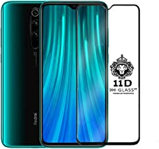 JGD PRODUCTS 11D Tempered Glass Screen Protector Full HD Quality Edge to Edge Coverage for Xiaomi Redmi Note 8 Pro Black