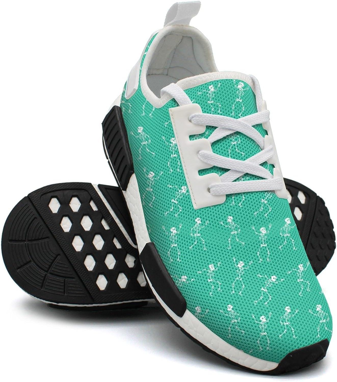 Dancing Skeletons Haloween Skulls Women's Jogger Lightweight Basketball Sneakers Gym Outdoor Running shoes