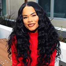 Beauty Forever Hair Brazilian Weave Virgin Hair Body Wave 3 Bundles with 1 Piece 44 3part Lace Closure 100% Unprocessed Human Hair Extensions Natural Color (16 18 20+12closure)