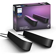 Philips Hue Play White & Color Smart Light, 2 Pack Base kit, Hub Required/Power Supply Included...