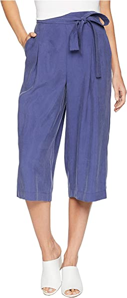 Self Belted Culotte Pants