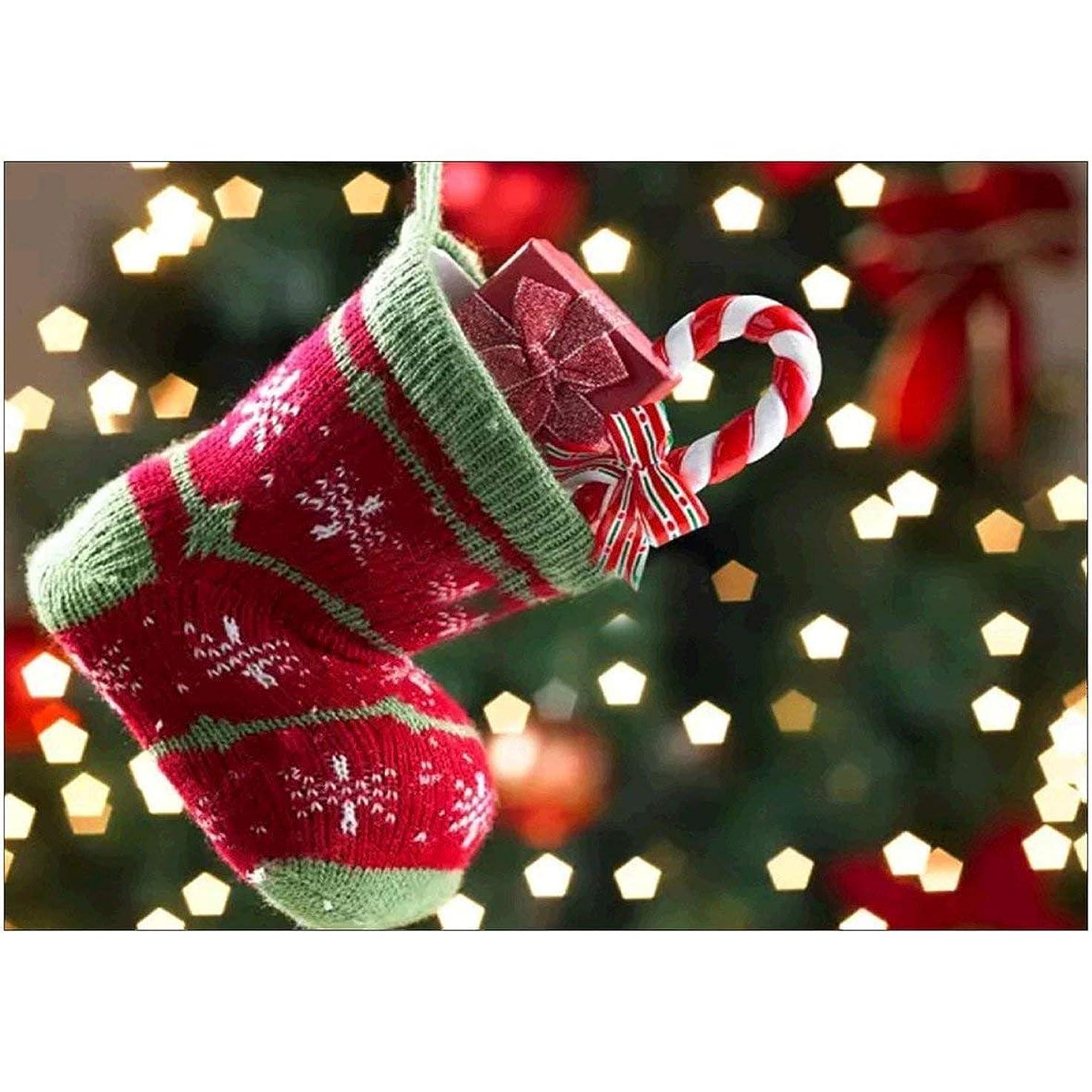 接尾辞意識病気のTivollyff クリスマスダイヤモンド塗装キットフルドリルアクセサリー装飾ラインストーンホームウォールアート装飾アートクラフト