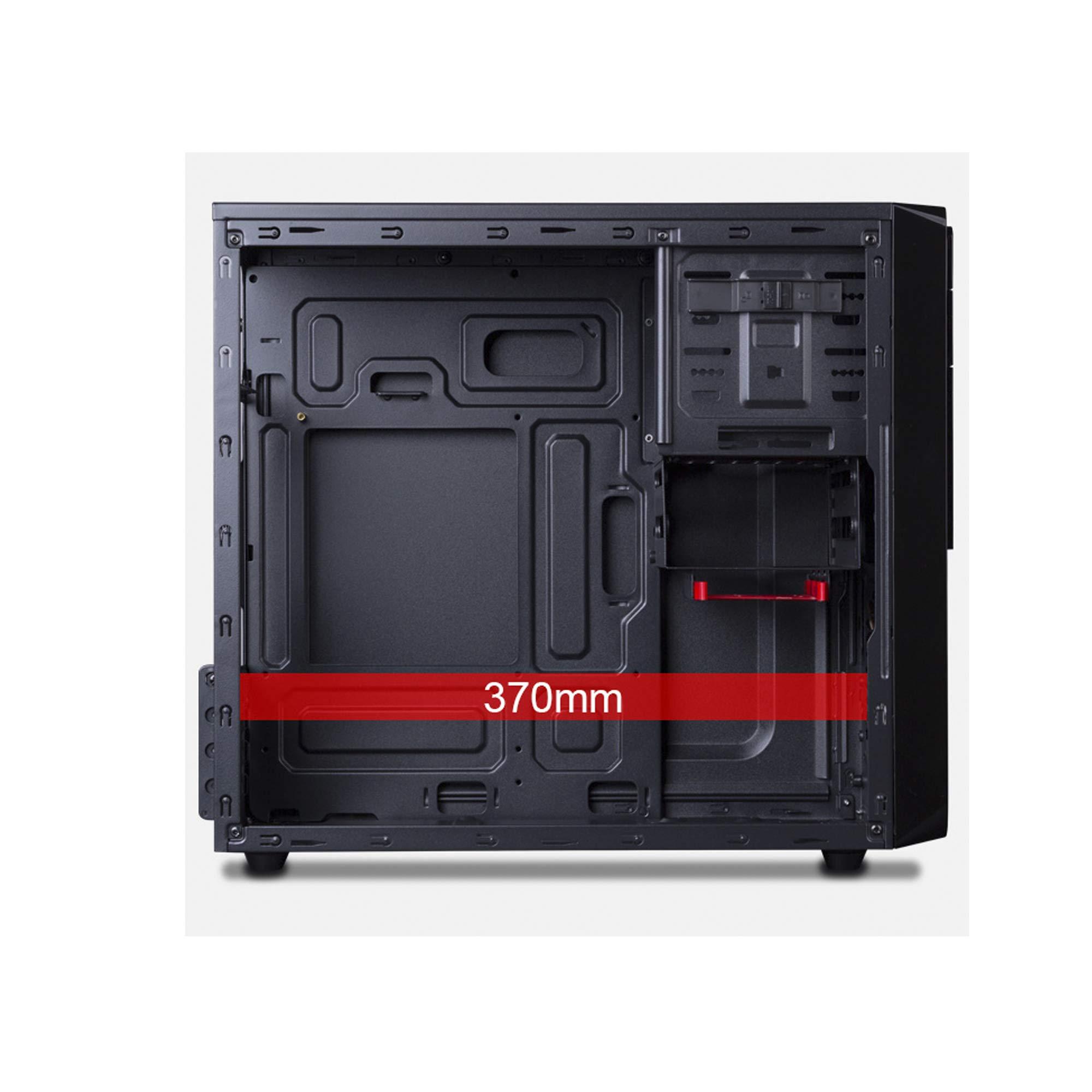 Hiditec CHA010011 Carcasa de Ordenador Micro-Tower Negro 500 W ...