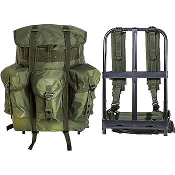 MT - Mochila militar Alice Pack de supervivencia militar con marco ...