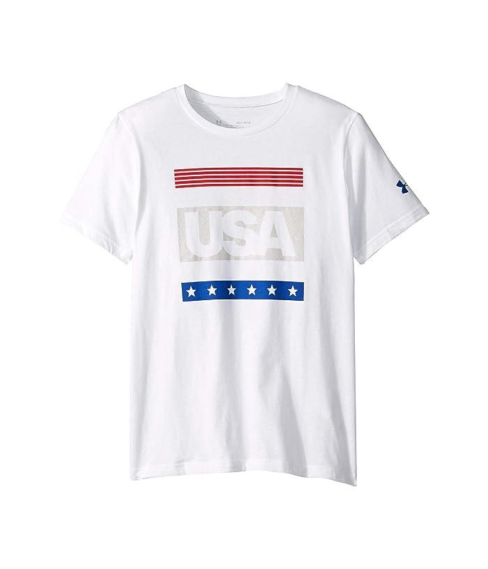1abd991b4c Under Armour Kids Americana Short Sleeve Tee (Big Kids) | Zappos.com