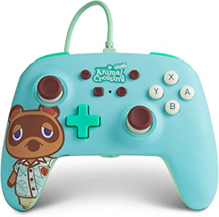 PowerA Enhanced Wired Controller for Nintendo Switch - Animal Crossing: Tom Nook, Nintendo Switch Lite, Gamepad, Game Cont...