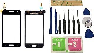 Flügel para Samsung Galaxy Core 2 Duos SM-G355H G355 Pantalla de Cristal Táctil Touchscreen Glass Display Negro( Sin LCD)de Recambio & Herramientas