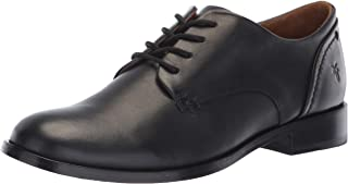 centro comercial de moda FRYE Wohombres Elyssa Oxford, negro, 9 9 9 M US  ahorra hasta un 80%
