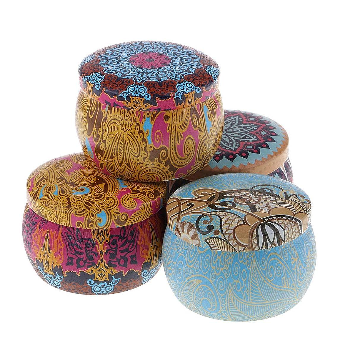 測るメイエラ一致するD DOLITY 民族風 アロマキャンドル 大豆 4個 贈り物 蝋燭 可愛い外観 癒しの灯り 135g 消臭約24時間
