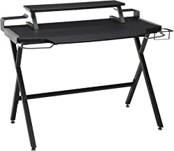 """RESPAWN 1000 Gaming Computer Desk, in Gray (RSP-1000-GRY), 23.625"""" D x 42"""" W x 34.625"""" H"""