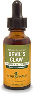 Herb Pharm Devil's Claw Liquid Extract for Musculoskeletal System Support - 1 Ounce