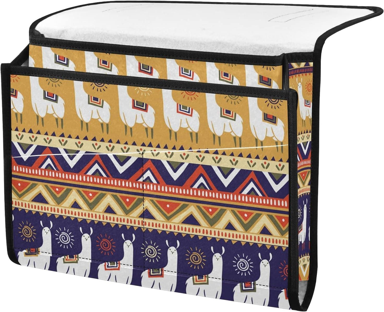 Bedside Caddy Colorado Springs Dallas Mall Mall Storage Organizer Alpaca Indian R Style in