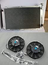 Aluminum Radiator+Fans Fit For Nissan GQ PATROL Y60 4.2L Petrol TB42S TB42E1987-1997 MT