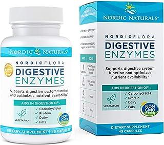 Nordic Naturals Nordic Flora Digestiva Enzimas - 45 Cápsulas - Función Digestiva, Optimiza la Disponibilidad de Nutrientes...