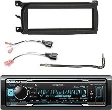 Kenwood in-Dash Bluetooth HD Radio Stereo Receiver, Enrock Single-DIN Dash Kit, Metra 2 Pin Rectangular Speaker Connector, Metra Antenna Adapter (Select 2001-2009 Vehicles)