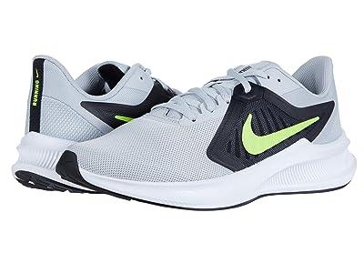 Nike Downshifter 10 (Grey Fog/Volt/Black/White) Men