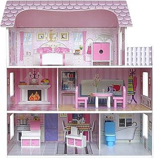 Kiddi Style Casa Muñecas Madera – Casa Victoriana