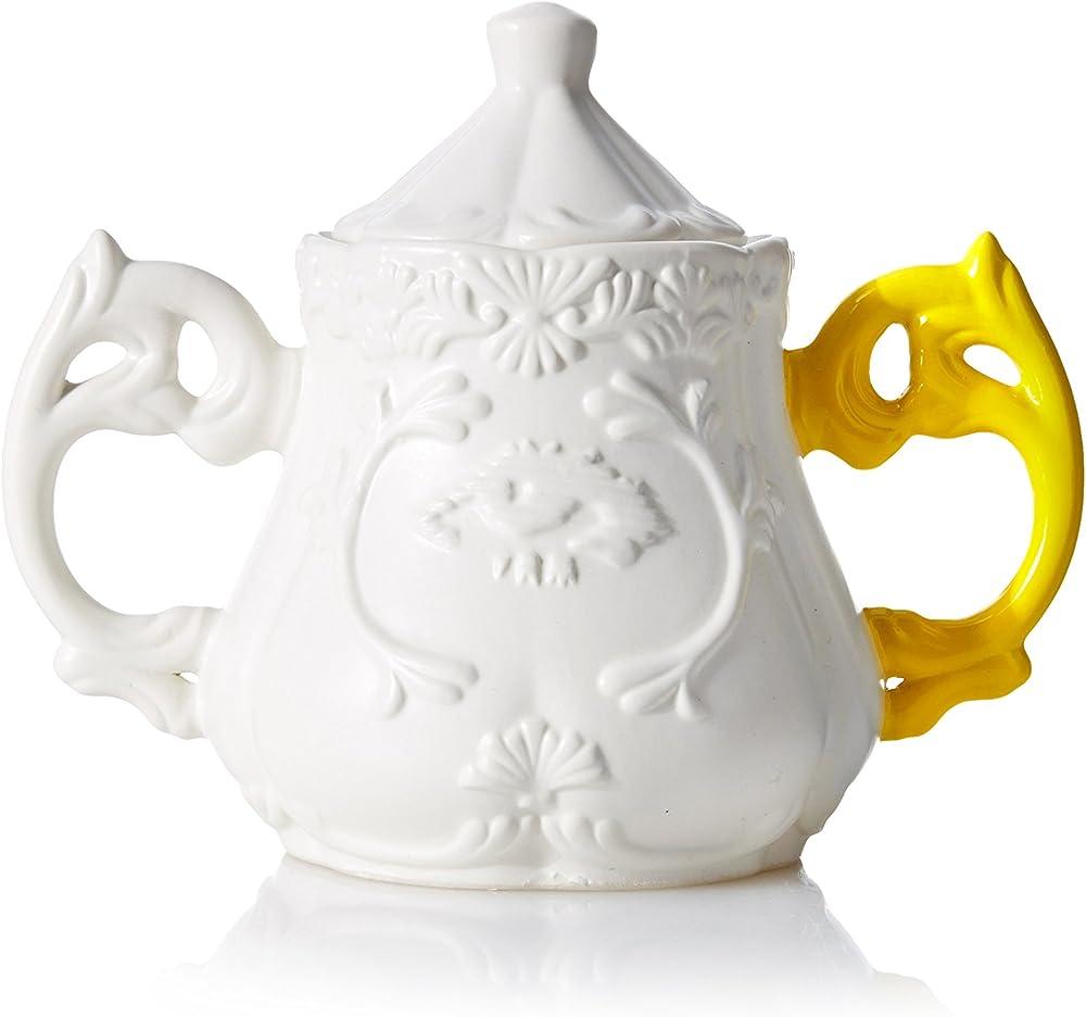 Seletti, zuccheriera in porcellana 09857GIA