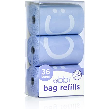 Ubbi On The Go Refill Bags, Lavender Scented, Value Pack