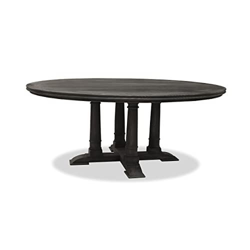 72 Inch Round Dining Table Amazoncom