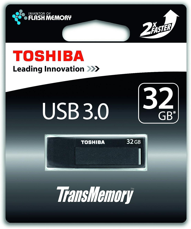 Toshiba Transmemory 32gb Usb Stick Usb 3 0 Schwarz Computer Zubehör