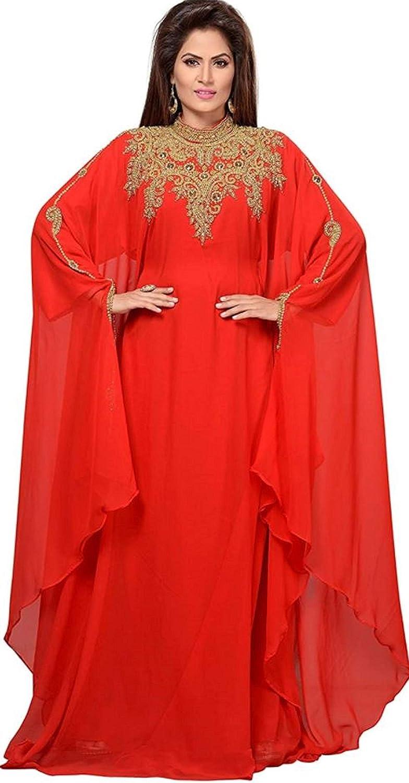 Kaftan Maxi Dress Evening Gowns Evening Dresses Wedding Cocktail Dress Farsha Morocan Takhita Wear